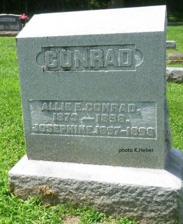 COOK CONRAD, ALLIE EDITH - Champaign County, Ohio | ALLIE EDITH COOK CONRAD - Ohio Gravestone Photos