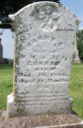 CONRAD, SAMMY G - Champaign County, Ohio   SAMMY G CONRAD - Ohio Gravestone Photos