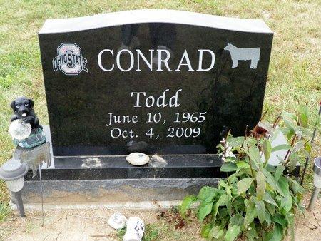 CONRAD, TODD - Champaign County, Ohio | TODD CONRAD - Ohio Gravestone Photos