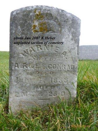 CONRAD, WARNIE A - Champaign County, Ohio | WARNIE A CONRAD - Ohio Gravestone Photos