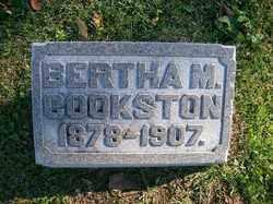 COOKSTON, BERTHA M - Champaign County, Ohio | BERTHA M COOKSTON - Ohio Gravestone Photos