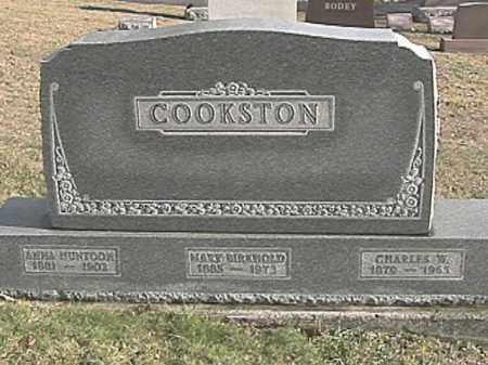 COOKSTON, CHARLES W. - Champaign County, Ohio | CHARLES W. COOKSTON - Ohio Gravestone Photos