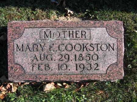 COOKSTON, MARY E. - Champaign County, Ohio | MARY E. COOKSTON - Ohio Gravestone Photos