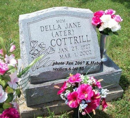 ATER COTTRILL, DELLA JANE - Champaign County, Ohio | DELLA JANE ATER COTTRILL - Ohio Gravestone Photos