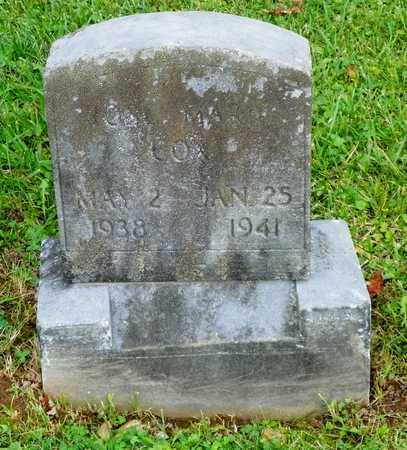 COX, ROSA MARY - Champaign County, Ohio | ROSA MARY COX - Ohio Gravestone Photos