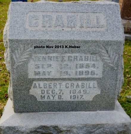 CRABILL, VIRGINIA FLORENCE - Champaign County, Ohio | VIRGINIA FLORENCE CRABILL - Ohio Gravestone Photos
