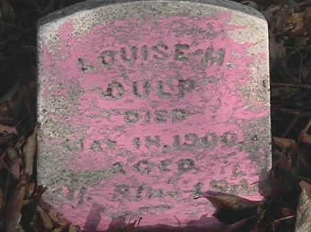 CULP, LOUISA M. - Champaign County, Ohio | LOUISA M. CULP - Ohio Gravestone Photos