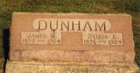 DUNHAM, JAMES MADISON - Champaign County, Ohio | JAMES MADISON DUNHAM - Ohio Gravestone Photos