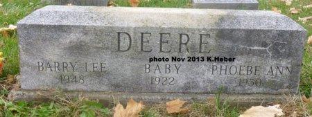 DEERE, PHOEBE ANN - Champaign County, Ohio   PHOEBE ANN DEERE - Ohio Gravestone Photos