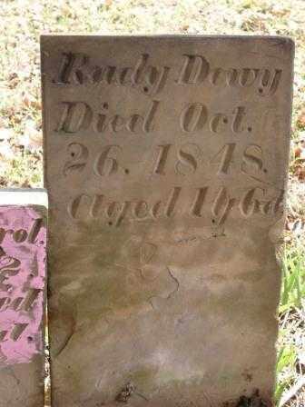DEWY, RUBY - Champaign County, Ohio   RUBY DEWY - Ohio Gravestone Photos