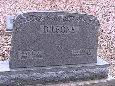 DILBONE, HATTIE A. - Champaign County, Ohio | HATTIE A. DILBONE - Ohio Gravestone Photos