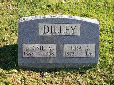 DILLEY, JESSIE M. - Champaign County, Ohio | JESSIE M. DILLEY - Ohio Gravestone Photos