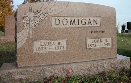 ALLEN-DOMIGAN, LAURA BELLE - Champaign County, Ohio | LAURA BELLE ALLEN-DOMIGAN - Ohio Gravestone Photos