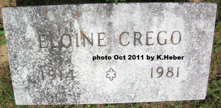 APPLE DONOVAN-CREGO, DOROTHY ELOINE - Champaign County, Ohio   DOROTHY ELOINE APPLE DONOVAN-CREGO - Ohio Gravestone Photos