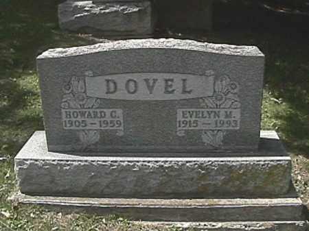 DOVEL, EVELYN M. - Champaign County, Ohio | EVELYN M. DOVEL - Ohio Gravestone Photos