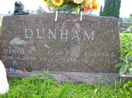 DUNHAM, RICHARD GUY - Champaign County, Ohio   RICHARD GUY DUNHAM - Ohio Gravestone Photos