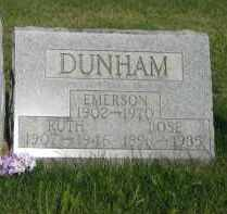 GATZ DUNHAM, ROSE M - Champaign County, Ohio | ROSE M GATZ DUNHAM - Ohio Gravestone Photos