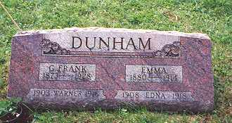 "DUNHAM, GEORGE FRANCIS ""FRANK"" - Champaign County, Ohio 