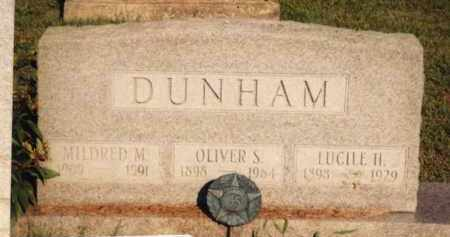 DUNHAM, OLIVER STEPHEN - Champaign County, Ohio | OLIVER STEPHEN DUNHAM - Ohio Gravestone Photos