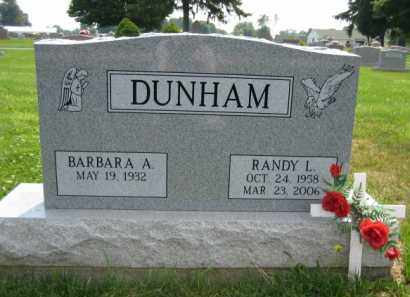DUNHAM, RANDY L. - Champaign County, Ohio | RANDY L. DUNHAM - Ohio Gravestone Photos