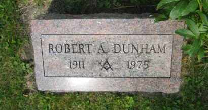 DUNHAM, ROBERT ANDREW - Champaign County, Ohio | ROBERT ANDREW DUNHAM - Ohio Gravestone Photos