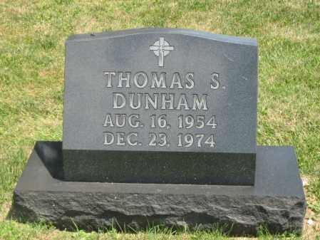 DUNHAM, THOMAS S. - Champaign County, Ohio   THOMAS S. DUNHAM - Ohio Gravestone Photos