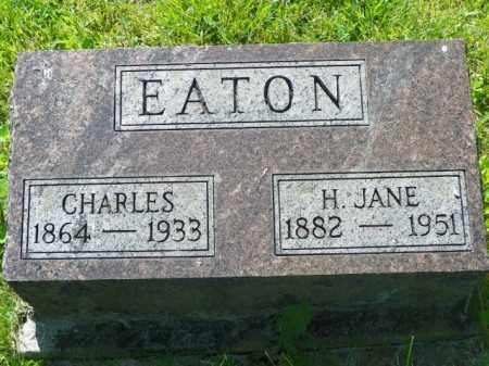 EATON, CHARLES - Champaign County, Ohio | CHARLES EATON - Ohio Gravestone Photos