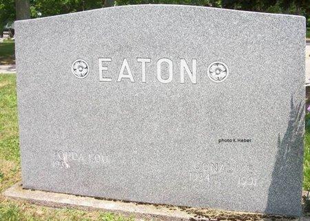 ALLEN EATON, FONDA LOU - Champaign County, Ohio | FONDA LOU ALLEN EATON - Ohio Gravestone Photos