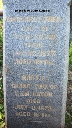 EATON, MARY E - Champaign County, Ohio | MARY E EATON - Ohio Gravestone Photos
