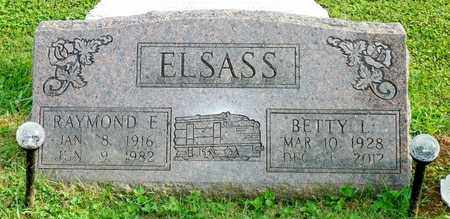 ELSASS, RAYMOND E. - Champaign County, Ohio | RAYMOND E. ELSASS - Ohio Gravestone Photos