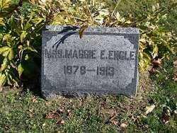 ENGLE, MAGGIE E - Champaign County, Ohio | MAGGIE E ENGLE - Ohio Gravestone Photos