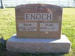 ENOCH, MARY - Champaign County, Ohio | MARY ENOCH - Ohio Gravestone Photos