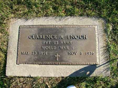 ENOCH, CLARENCE A - Champaign County, Ohio | CLARENCE A ENOCH - Ohio Gravestone Photos