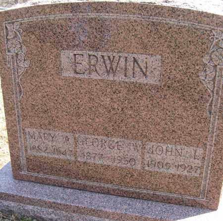 ERWIN, MARY ANN - Champaign County, Ohio | MARY ANN ERWIN - Ohio Gravestone Photos