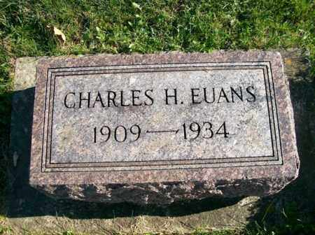 EUANS, CHARLES H. - Champaign County, Ohio | CHARLES H. EUANS - Ohio Gravestone Photos