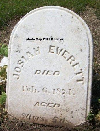 EVERETT, JOSIAH - Champaign County, Ohio | JOSIAH EVERETT - Ohio Gravestone Photos