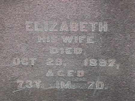 EVERINGHAM, ELIZABETH - Champaign County, Ohio   ELIZABETH EVERINGHAM - Ohio Gravestone Photos