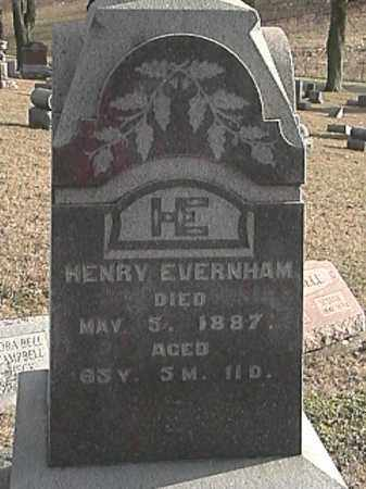 EVERINGHAM, HENRY - Champaign County, Ohio   HENRY EVERINGHAM - Ohio Gravestone Photos