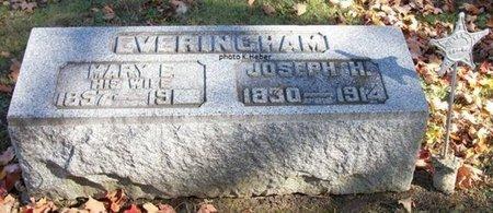 "SHAFFER EVERINGHAM, MARY ELIZABETH ""LIZZIE"" - Champaign County, Ohio   MARY ELIZABETH ""LIZZIE"" SHAFFER EVERINGHAM - Ohio Gravestone Photos"
