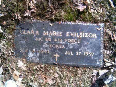 EVILSIZOR, CLARA MARIE HUMPHREVILLE - Champaign County, Ohio | CLARA MARIE HUMPHREVILLE EVILSIZOR - Ohio Gravestone Photos