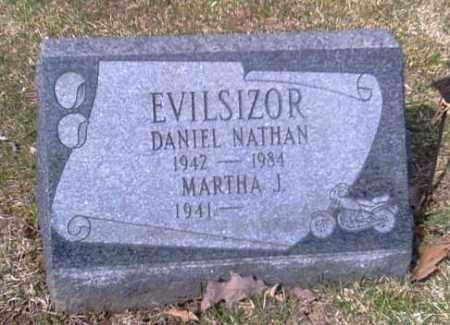 EVILSIZOR, DANIEL - Champaign County, Ohio   DANIEL EVILSIZOR - Ohio Gravestone Photos
