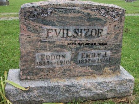 EVILSIZOR, EMILY JANE - Champaign County, Ohio | EMILY JANE EVILSIZOR - Ohio Gravestone Photos