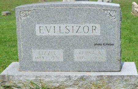 "EVILSIZOR, ELIZABETH ""LIZZIE"" - Champaign County, Ohio   ELIZABETH ""LIZZIE"" EVILSIZOR - Ohio Gravestone Photos"