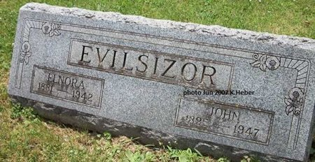 EVILSIZOR, ELNORA ANN - Champaign County, Ohio | ELNORA ANN EVILSIZOR - Ohio Gravestone Photos