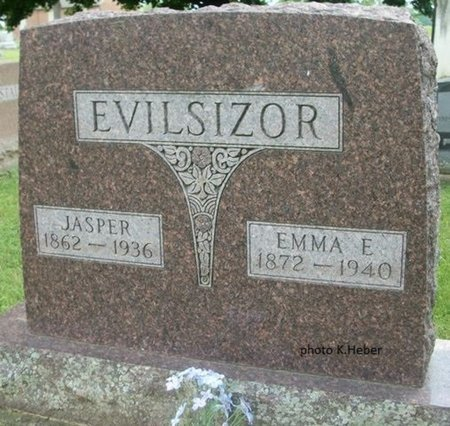 EVILSIZOR, EMILY E - Champaign County, Ohio | EMILY E EVILSIZOR - Ohio Gravestone Photos