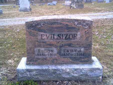 EVILSIZOR, EDDON - Champaign County, Ohio | EDDON EVILSIZOR - Ohio Gravestone Photos
