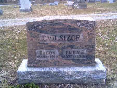 EVILSIZOR, EMILY J. - Champaign County, Ohio   EMILY J. EVILSIZOR - Ohio Gravestone Photos