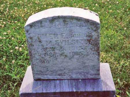 EVILSIZOR, HOMER EVERETT - Champaign County, Ohio | HOMER EVERETT EVILSIZOR - Ohio Gravestone Photos