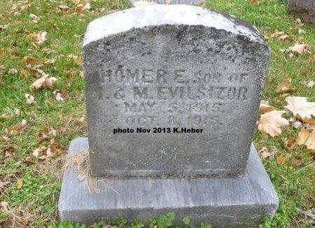 EVILSIZOR, HOMER - Champaign County, Ohio | HOMER EVILSIZOR - Ohio Gravestone Photos