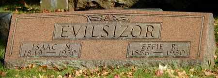 EVILSIZOR, ISAAC N. - Champaign County, Ohio | ISAAC N. EVILSIZOR - Ohio Gravestone Photos